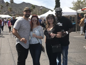 Click To Read More Feedback from Carefree Fine Art & Wine Festival - Thunderbird Artists - 1 Tickets Is Good for 2 Adults