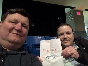 Ronald attended Cole Swindell Special Guests: Chris Janson and Lauren Alaina (american Idol) on Mar 9th 2018 via VetTix