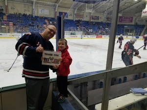 Benjamin attended Johnstown Tomahawks vs. Northeast Generals - NAHL on Mar 16th 2018 via VetTix