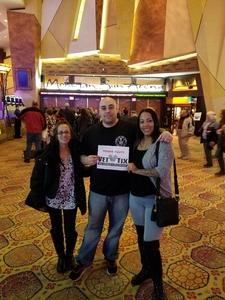 Daniel attended Cirque Dreams Revealed on Mar 11th 2018 via VetTix