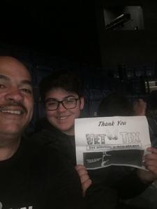 Edgar attended Cirque Dreams Revealed on Mar 11th 2018 via VetTix