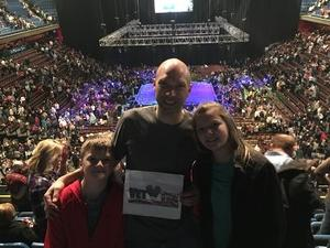 Quint attended Cirque Dreams Revealed on Mar 11th 2018 via VetTix