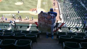 Alvis attended Chicago Cubs vs. Pittsburgh Pirates - MLB on Apr 12th 2018 via VetTix