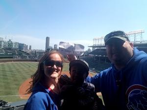 Brandon attended Chicago Cubs vs. Pittsburgh Pirates - MLB on Apr 12th 2018 via VetTix
