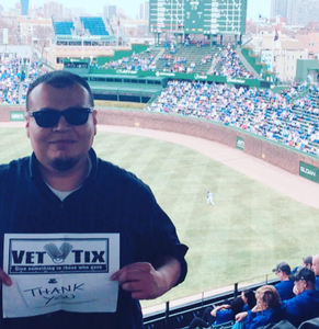 Bobby attended Chicago Cubs vs. Pittsburgh Pirates - MLB on Apr 12th 2018 via VetTix