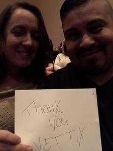 Franklin attended West Side Story - Friday Evening on Mar 2nd 2018 via VetTix