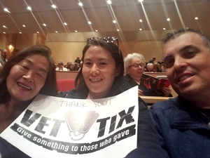 Joseph & Danielle attended West Side Story - Friday Evening on Mar 2nd 2018 via VetTix