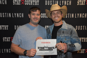 Philip attended Brad Paisley - Weekend Warrior World Tour With Dustin Lynch, Chase Bryant and Lindsay Ell on Mar 9th 2018 via VetTix