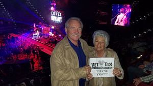 M. Gregg attended Brad Paisley - Weekend Warrior World Tour With Dustin Lynch, Chase Bryant and Lindsay Ell on Mar 9th 2018 via VetTix
