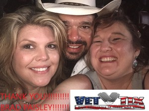 Jennifer attended Brad Paisley - Weekend Warrior World Tour With Dustin Lynch, Chase Bryant and Lindsay Ell on Mar 9th 2018 via VetTix
