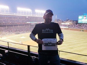 David attended Chicago Cubs vs. Pittsburgh Pirates - MLB on Apr 11th 2018 via VetTix