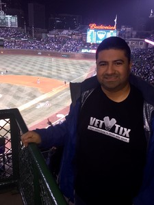 Guadalupe attended Chicago Cubs vs. Pittsburgh Pirates - MLB on Apr 11th 2018 via VetTix