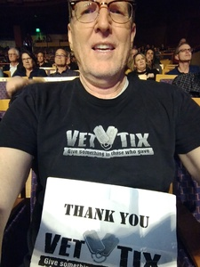 Scott attended Celebrating David Bowie on Mar 7th 2018 via VetTix