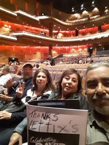 Ricardo attended Celebrating David Bowie on Mar 7th 2018 via VetTix