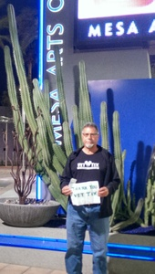 Gerard attended Celebrating David Bowie on Mar 7th 2018 via VetTix