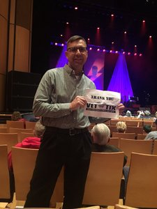 Gregory attended Celebrating David Bowie on Mar 7th 2018 via VetTix