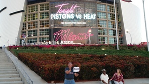 Click To Read More Feedback from Miami Heat vs. Detroit Pistons - NBA