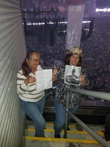 Patricia attended Blake Shelton With Brett Eldredge, Carly Pearce and Trace Adkins on Mar 8th 2018 via VetTix