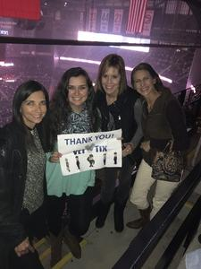 William attended Blake Shelton With Brett Eldredge, Carly Pearce and Trace Adkins on Mar 8th 2018 via VetTix