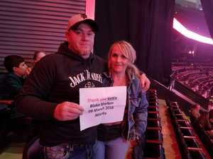 Michael attended Blake Shelton With Brett Eldredge, Carly Pearce and Trace Adkins on Mar 8th 2018 via VetTix