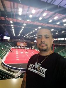 john attended Texas Revolution vs. Dallas Marshals - Cif on Apr 21st 2018 via VetTix