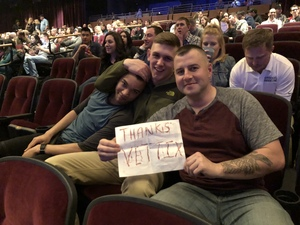 Caleb attended Jim Gaffigan - the Fixer Upper on Mar 4th 2018 via VetTix