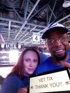 Kerry attended Tampa Bay Lightning vs. Florida Panthers - NHL on Mar 6th 2018 via VetTix