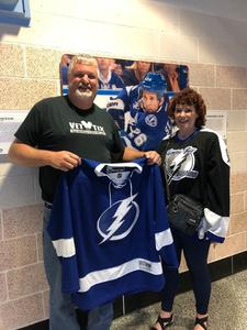 Shawn attended Tampa Bay Lightning vs. Florida Panthers - NHL on Mar 6th 2018 via VetTix