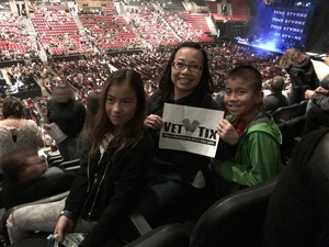 Lunetta attended Lorde: Melodrama World Tour on Mar 10th 2018 via VetTix