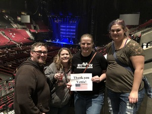Carrie attended Lorde: Melodrama World Tour on Mar 10th 2018 via VetTix