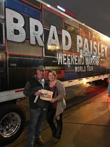 William attended Brad Paisley - Weekend Warrior World Tour With Dustin Lynch, Chase Bryant and Lindsay Ell on Apr 6th 2018 via VetTix