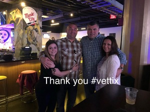Michael attended Brad Paisley - Weekend Warrior World Tour With Dustin Lynch, Chase Bryant and Lindsay Ell on Apr 6th 2018 via VetTix