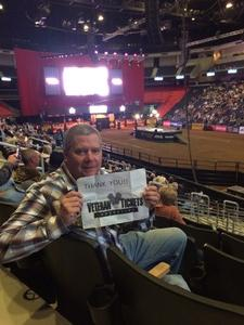 Michael attended PBR - 25th Anniversary - Unleash the Beast - Tickets Good for Sunday Only. on Mar 11th 2018 via VetTix