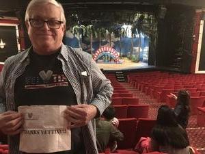 Richard attended Seussical the Musical on Apr 26th 2018 via VetTix