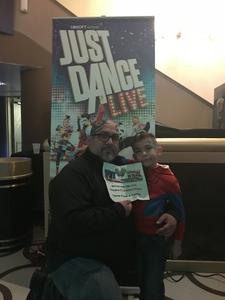 Click To Read More Feedback from Just Dance Live! - Saturday Evening