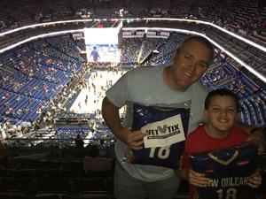 Tony attended New Orleans Pelicans vs. Utah Jazz - NBA on Mar 11th 2018 via VetTix