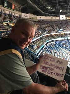 Richard attended New Orleans Pelicans vs. Utah Jazz - NBA on Mar 11th 2018 via VetTix