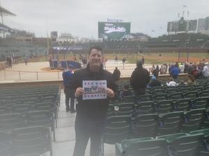 PATRICK attended Chicago Cubs vs. Atlanta Braves - MLB on Apr 13th 2018 via VetTix