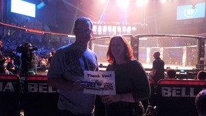Brian attended Bellator 197 - Primus vs. Chandler 2 - Mixed Martial Arts - Presented by Bellator MMA on Apr 13th 2018 via VetTix