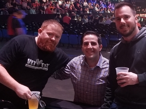 RYAN attended Bellator 197 - Primus vs. Chandler 2 - Mixed Martial Arts - Presented by Bellator MMA on Apr 13th 2018 via VetTix