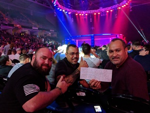Michael Schwarz attended Bellator 197 - Primus vs. Chandler 2 - Mixed Martial Arts - Presented by Bellator MMA on Apr 13th 2018 via VetTix
