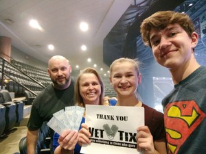 ERON attended Bon Jovi - This House Is Not for Sale Tour on Mar 14th 2018 via VetTix