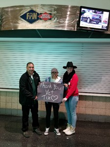 Jose attended Blake Shelton With Brett Eldredge, Carly Pearce and Trace Adkins on Mar 17th 2018 via VetTix