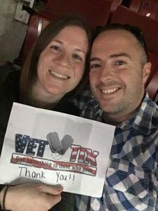 Brian attended Blake Shelton With Brett Eldredge, Carly Pearce and Trace Adkins on Mar 17th 2018 via VetTix