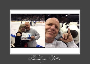 Kevin attended Jacksonville Icemen vs. South Carolina Stingrays on Mar 31st 2018 via VetTix
