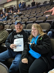 Timothy attended Jacksonville Icemen vs. South Carolina Stingrays on Mar 31st 2018 via VetTix