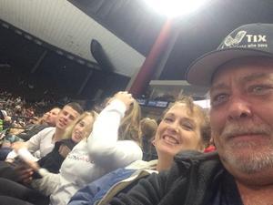 Roger attended Jacksonville Icemen vs. South Carolina Stingrays on Mar 31st 2018 via VetTix