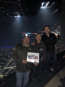 Eric attended Miranda Lambert Livin Like Hippies Tour on Mar 17th 2018 via VetTix