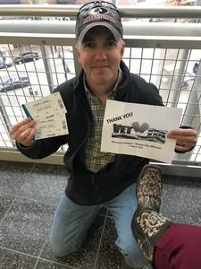 Pete attended Miranda Lambert Livin Like Hippies Tour on Mar 17th 2018 via VetTix
