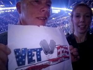 James attended Miranda Lambert Livin Like Hippies Tour on Mar 17th 2018 via VetTix